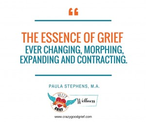 the essence of grief