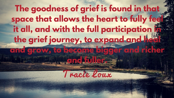 The Goodness In Grief And How It Connects Us